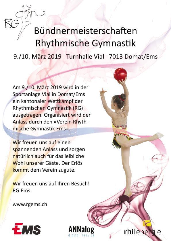 Bündnermeisterschaften Rhythmische Gymnastik