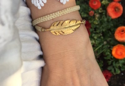 Armband-GoldenFeather-1