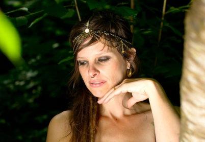 Kopfschmuck, Kopfband, Krone, Diadem, Hochzeitsschmuck