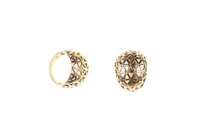 Ring, Messing Ring, Tribal Ring