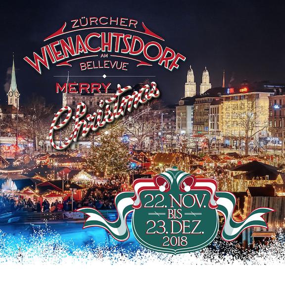 Weihnachtsdorf Zürich 22.11. – 9.12.2018