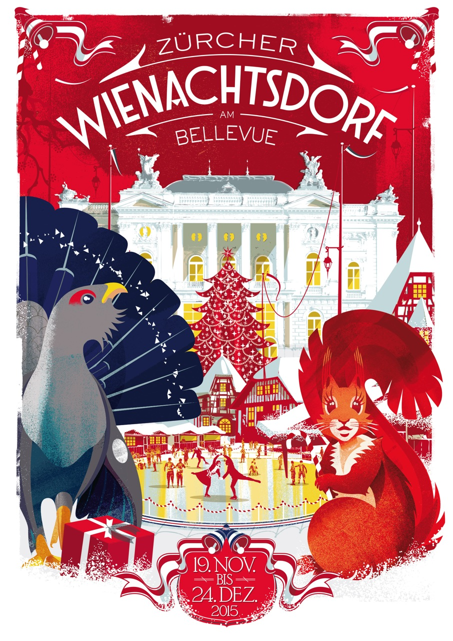 Weihnachtsdorf Zürich 23.11. – 7.12.2017