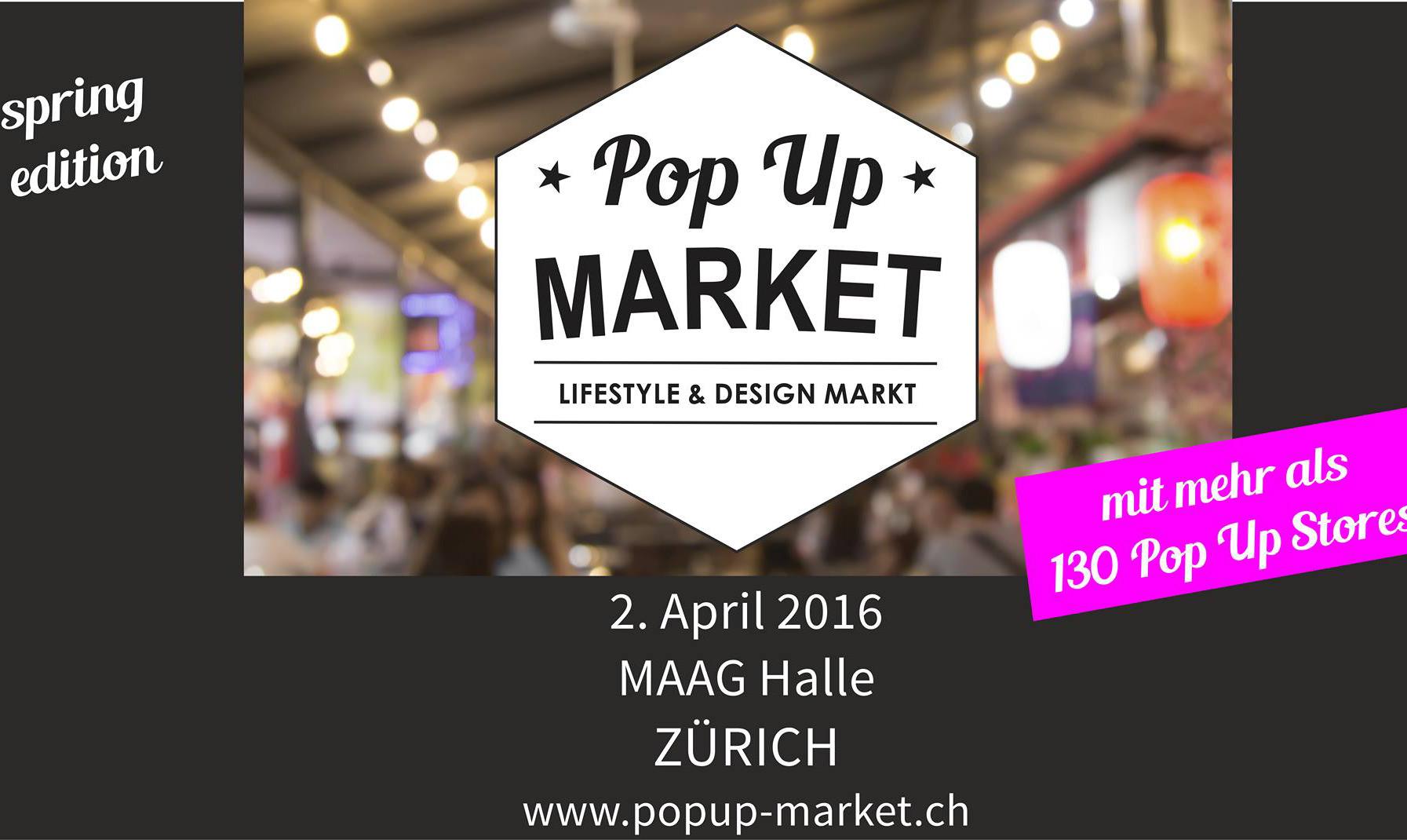 Pop Up Market – Spring Edition